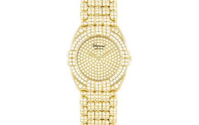 CHOPARD, GOLD AND DIAMOND-SET GSTAAD