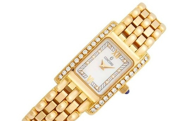 Concord Gold and Diamond Wristwatch