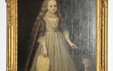 Countess of Pembroke Oil on Canvas Laid on Board