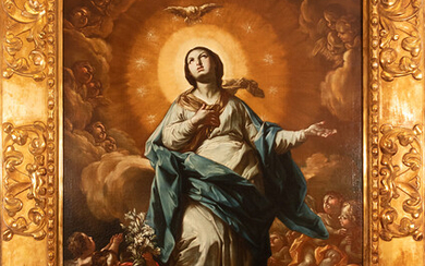 """In the manner of Francesco Solimena, """"Immaculate Conception"""", Italian school of the 17th - 18th century"""