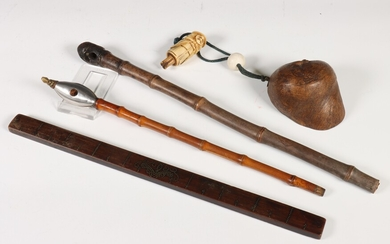 Japan, drie collectables, Meiji periode