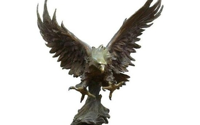 Marilyn Weinstein 'Out Of The Blue' Bronze Eagle