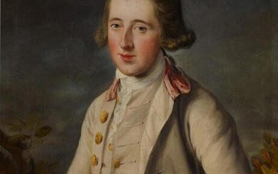Portrait of a young man, half-length, said to be Peter Speirs, John Russell