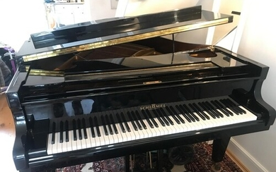 Schimmel (c1985) A 5ft grand piano in a bright ebonised case...