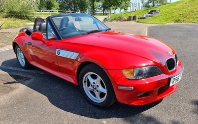 1997 BMW Z3 2.8, 2793cc. Registration number R967 UKH. Chass...