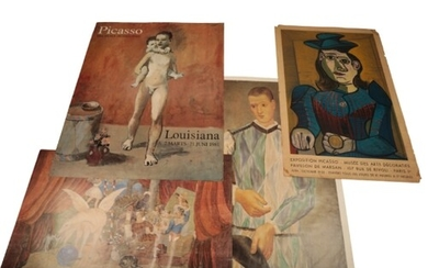 A FOLIO OF ART EXHIBITION POSTERS RELATING TO PABLO PICASSO ...