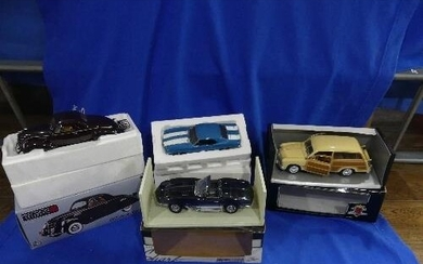 A Presicion 100 Collection 1:18 scale die-cast model of the ...