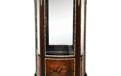 French Gilt Louis XV Style Display Cabinet
