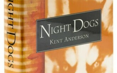 Kent Anderson's Night Dogs, signed in dj