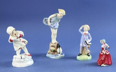 Royal Doulton and Royal Worcester Figures