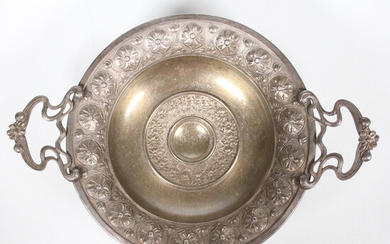 WMF. 'Table top bowl', silver-plated, approx. 1880-1918.