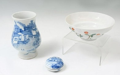 3 PC. CHINESE PORCELAIN COLLECTION