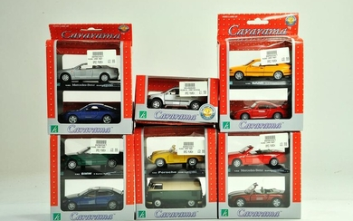 A group of 1/43 diecast issues comprising Cararama