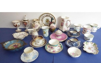 A selection of ornamental and decorative ceramics: to includ...