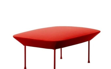 Anderssen & Voll for Muuto, Oslo, Pouf 'red'