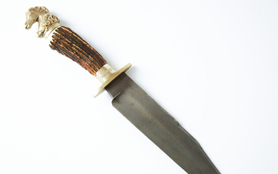 BOWIE KNIFE, British, James & Lowe, Sheffield, second half of the 20th century.