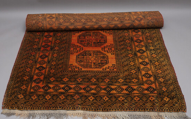 CARPET, hand-knotted, Guldafghan, 195x132.
