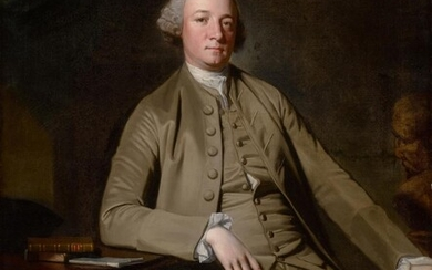 Portrait of a Gentleman, seated, probably William Suddel of Lancaster, George Romney