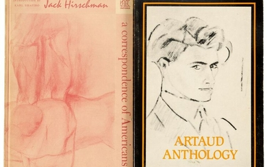 Two volumes signed by Jack Hirschman
