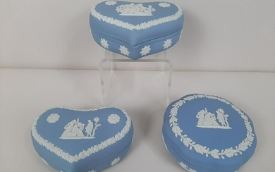 3 Wedgwood Trinket Boxes