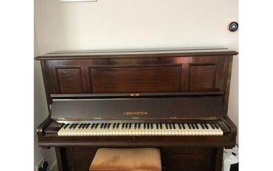 Bechstein (c1905) A Model 9 upright piano in a rosewood case...