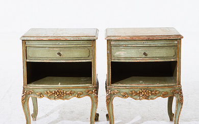 Bedside table Louis XV style Sängbord Louis XV stil