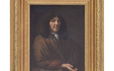 Circle of Nicolaes Maes (1634-1693) - portrait of a gentlema...