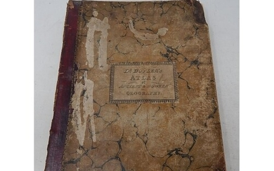 DR BUTLERS Atlas Complete with Maps 1835