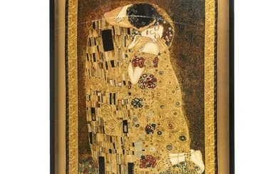Fine Venetian Fabric The Kiss Tapestry after Klimt