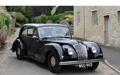 1952 AC SPORTS SALOON Registration Number: NGU 902 Chassis ...