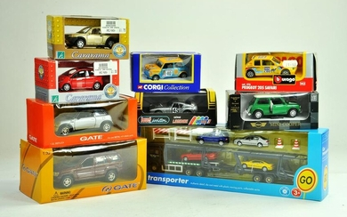 A group of diecast issues comprising Corgi, Gate