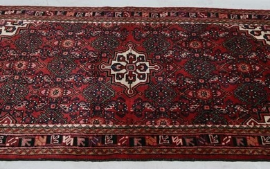 ANTIQUE HAND KNOTTED PERSIAN ARHAR WOOL RUG