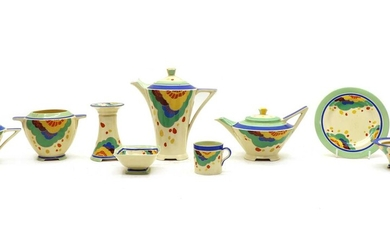 An extensive Royal Doulton 'Gaylee' tea and coffee wares