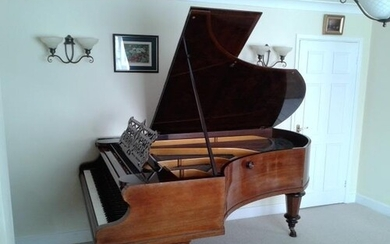 Bechstein (c1895) A 6ft 7in Model B grand piano in a rosewoo...