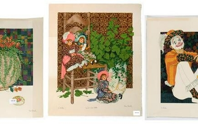 Ben Black, Group of Three Lithographs