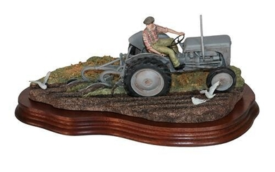 * Border Fine Arts 'The Fergie' (Tractor Ploughing), model No....