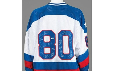 Miracle on Ice Signed Jersey