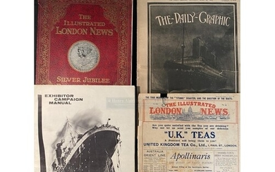 OCEAN LINER: Illustrated London News dated April 27, 1912. '...