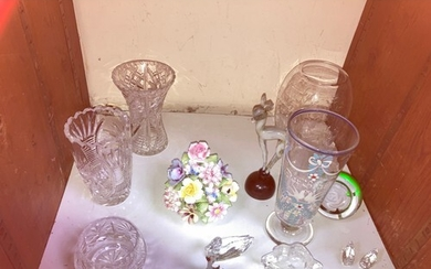 SECTION 32. A 19th century tall hand-blown German toasting ...