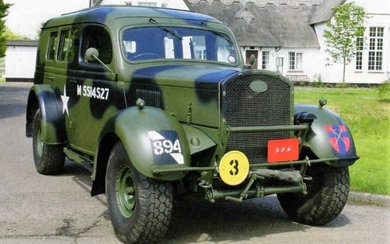 c.1942 Ford WOA2 Heavy Utility Car Possibly the finest example extant