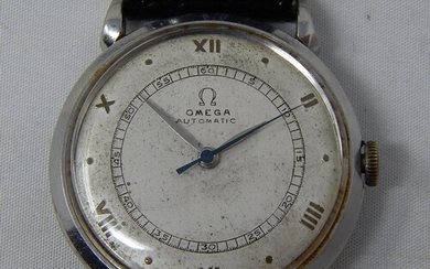 1940's Gentleman's Omega Automatic Wristwatch with Sweep Sec...