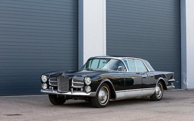 1961 Facel Vega Excellence Sports Saloon, Chassis no. EX1 B102 Engine no. TY7-1104-1