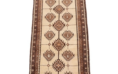 3'5 x 7'7 Hand-Knotted Persian Luri Area Rug