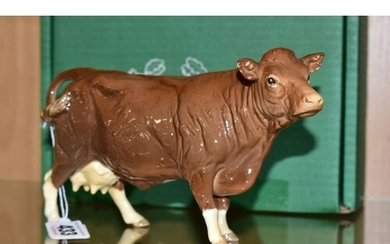 A BOXED BESWICK SPECIAL EDITION LIMOUSIN COW, No.3075B, spec...