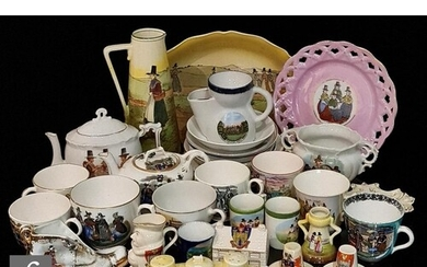A large collection of late 19th to early 20th Century wares ...
