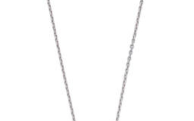 CHOPARD: 'SO HAPPY' ROCK CRYSTAL AND DIAMOND PENDANT NECKLACE