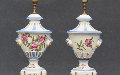 Pair of table lamps 20th Century