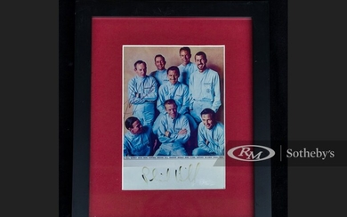 Phil Hill Signed Photograph