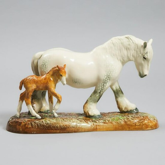 'Pride of the Shires', Royal Doulton Figure Group, W.M.