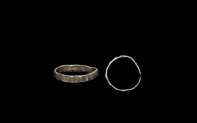 Roman Silver Inscribed Military Ring